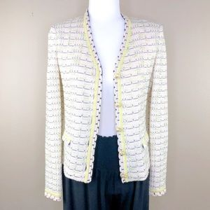 St John Collection Cardigan Sweater Sz 2